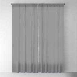 Dunn & Edwards 2019 Trending Colors Storm Cloud (Medium Gray) DE6362 Solid Color Blackout Curtain