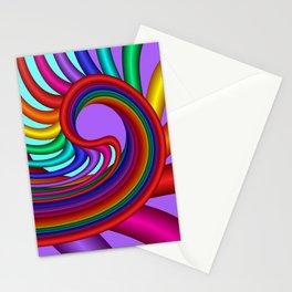 fluid -244violet Stationery Cards