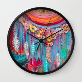 Outpouring Love Wall Clock