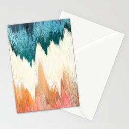 Pixel Sorting 55 Stationery Cards