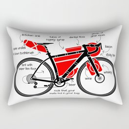 Bikepacking Rectangular Pillow
