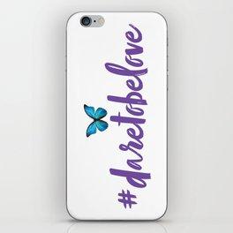 #daretobelove iPhone Skin
