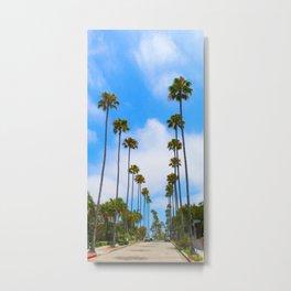 California lOVE Metal Print