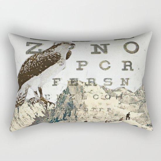 eye chart II Rectangular Pillow