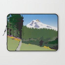 Mt Hood Meadows Hike Laptop Sleeve