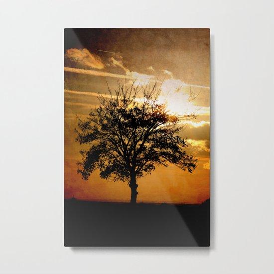 Sundown II Metal Print