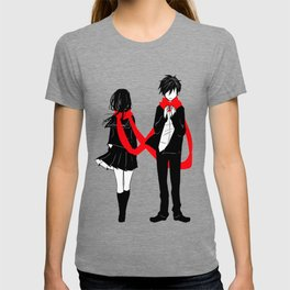 Red Scarf of Fate T-shirt