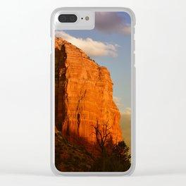 COURTHOUSE ROCK - SEDONA ARIZONA Clear iPhone Case