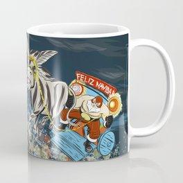 El Santo Clos Rides Again Coffee Mug