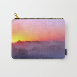 Sunrise with morning fog at a River in Africa  Carry-All Pouch