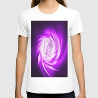 erotic T-shirts featuring Space and time 8  Erotic by Walter Zettl