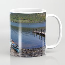 The Lake District - Boating on the Lake Coffee Mug