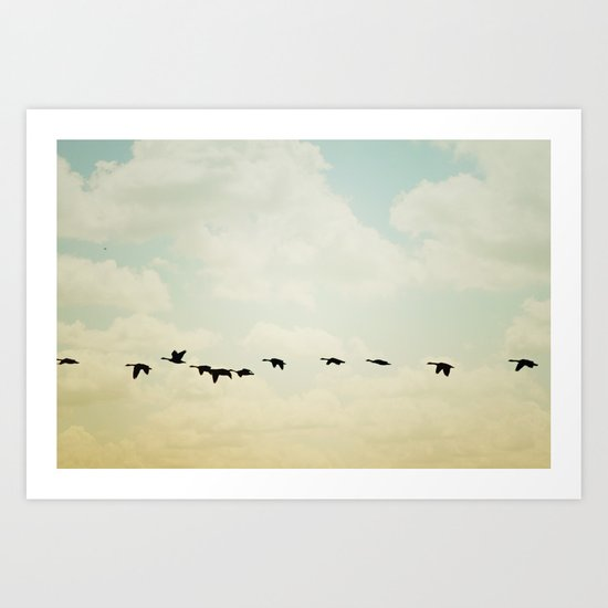 flying south Art Print