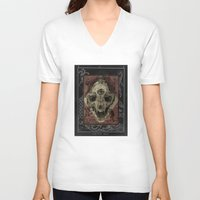 alchemy V-neck T-shirts featuring Alchemy 1800 by Dark Room