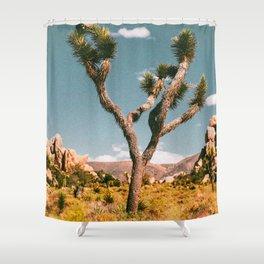 Joshua Tree III / California Desert Shower Curtain