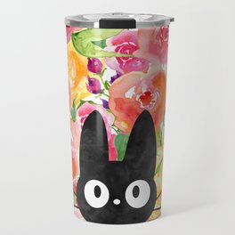 Jiji in Bloom Travel Mug