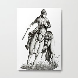 Scythian warrior Metal Print