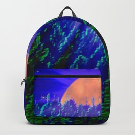 Digital moonlight Backpack