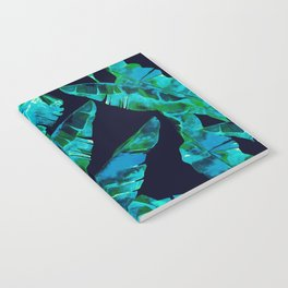 Tropical addiction - midnight grunge Notebook