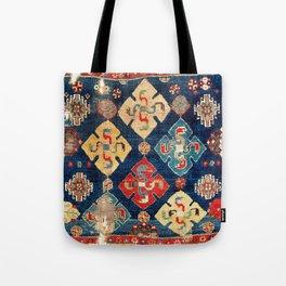 Shahsavan Moghan Southeast Caucasian Seating Rug Print Tote Bag