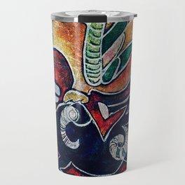 Scythian Designs Ibex & Griffin by Sheridon Rayment Travel Mug