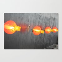 lanterns Canvas Prints featuring Lanterns by Deb Youngdahl