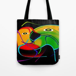 Love interaction Tote Bag
