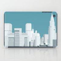 manhattan iPad Cases featuring Manhattan by mauromod