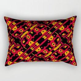 Vivid Warmth Rectangular Pillow