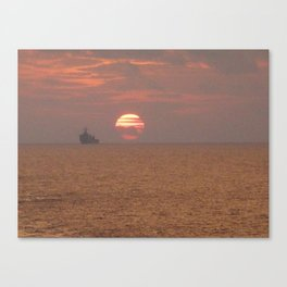 Parting is such sweet sorrow Canvas Print