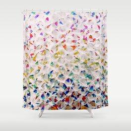 Holographic Bubblewrap Shower Curtain
