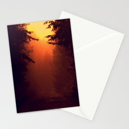 One Foggy Morning Stationery Cards