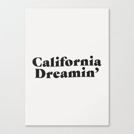 California Dreaming - Dark Canvas Print