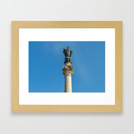 Column of the Immaculate Conception Framed Art Print