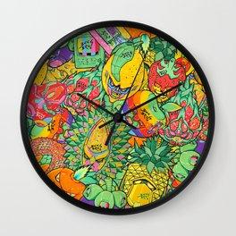 Fruity Hero by BKK BROS. Wall Clock
