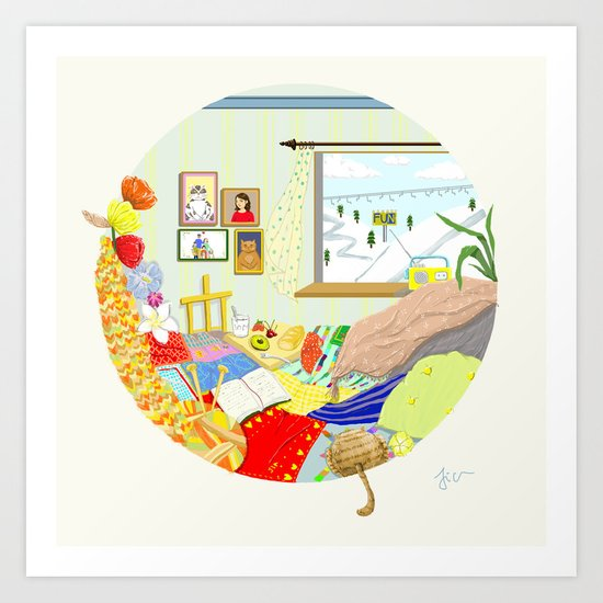 Dream Room Art Print