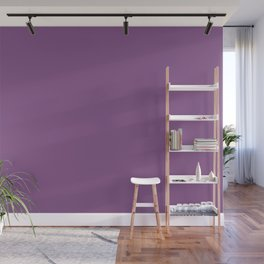 Inspired by Valspar America Cosmic Berry Bright Purple 4001-10C Solid Color Wall Mural