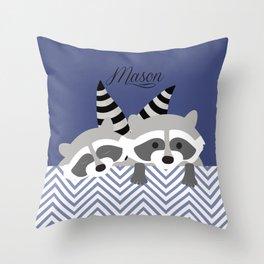 tribal mandala Throw Pillow