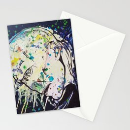 Voldemort Melted Crayon Stationery Cards