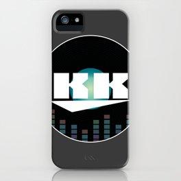 DJ KK iPhone Case