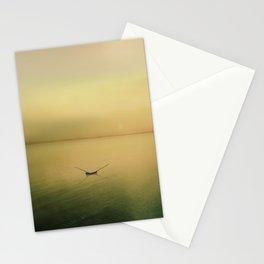Serene buoyancy Stationery Cards