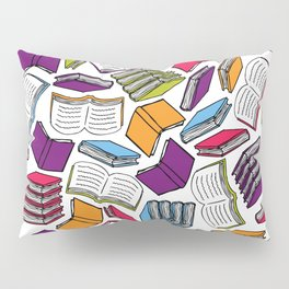So Many Colorful Books... Pillow Sham