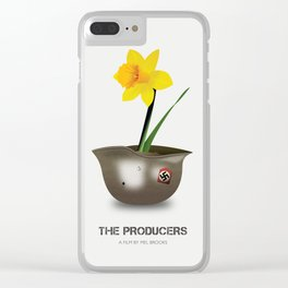 The Producers - Alternative Movie Poster Clear iPhone Case