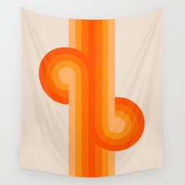 Creamsicle Knots Wall Tapestry