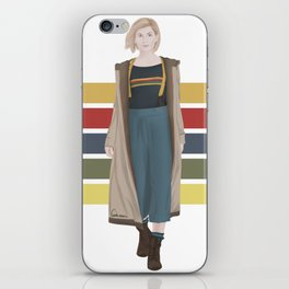 Doctor Who | 13th Doctor iPhone Skin