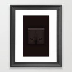 Sad Shorts Framed Art Print