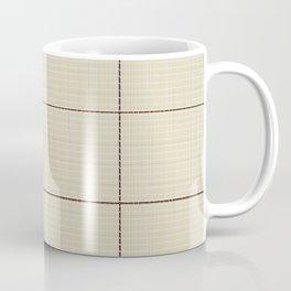Stiched Coffee Mug