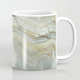 White Agate Coffee Mug