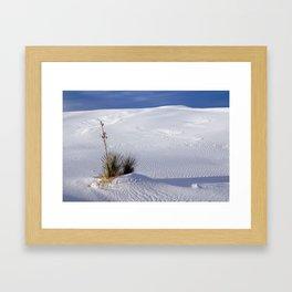 Tularosa Blue Framed Art Print