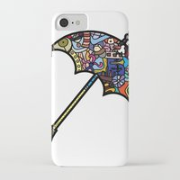 mary poppins iPhone & iPod Cases featuring Mary Poppins by Ilse S